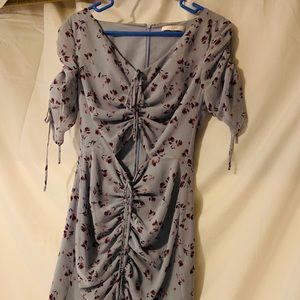 A WAYF Small floral dress. Worn once.